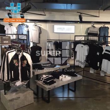 2f50b85dd9f65 Erkek Konfeksiyon Mağazası Tasarımı Özel Perakende Erkek Giyim Teşhir  Mobilyaları