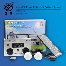 Solar portable Lighting System multifunction,solar radio system