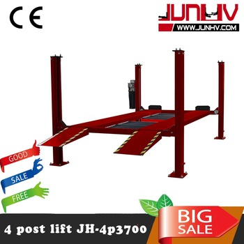 Backyard Buddy Car Lift Prices Hydraulic 4 POST Car Lift For Car Wash