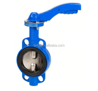 api free Design 10 inch Precision Casting triple offset with lever lug butterfly valve