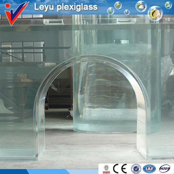 Acrilico plexiglass rettangolo vasca per i pesci acquari o for Pesci finti per piscina