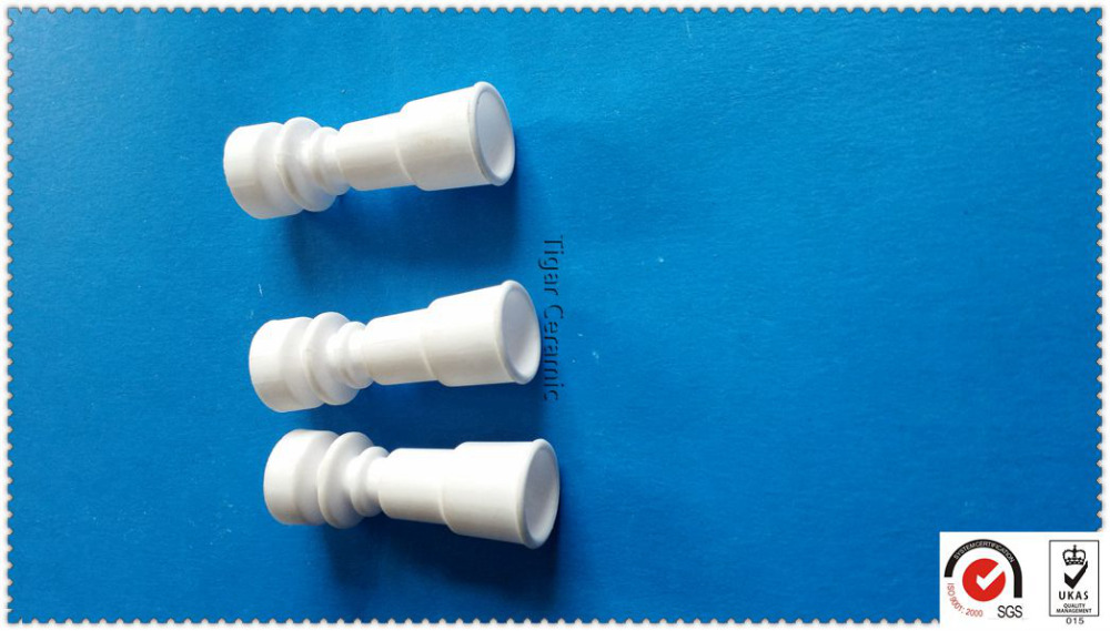 High quality ceramic smoking pipe domeless nail 14mm 18mm with super performance and long working life