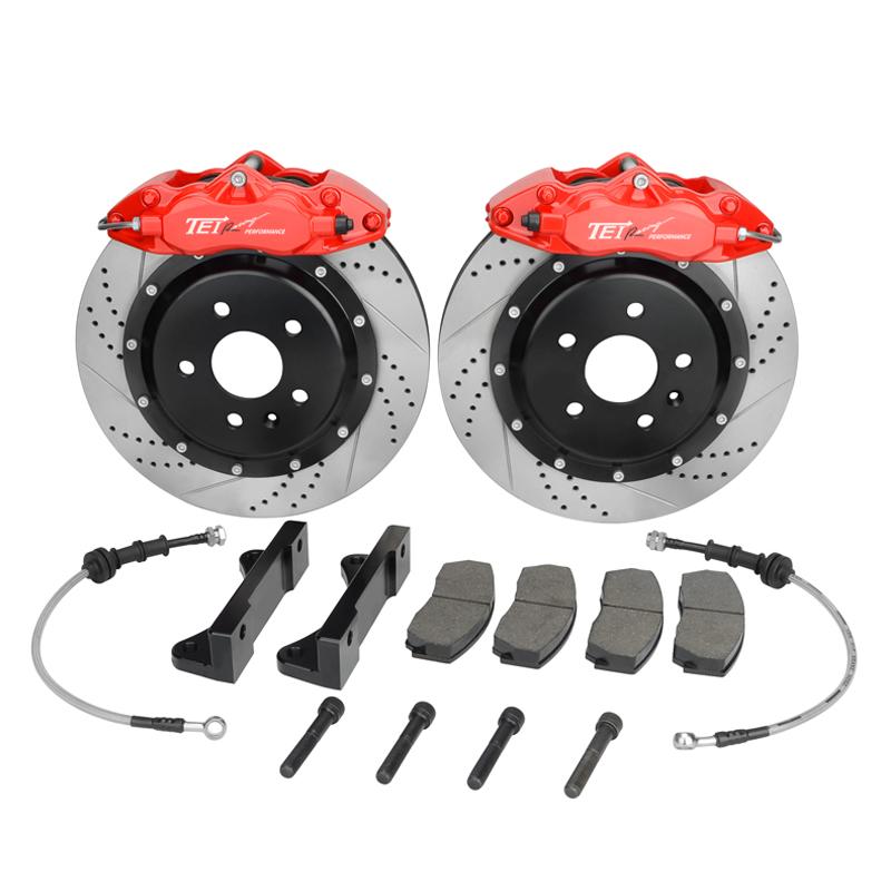 tei9200 voiture disque de frein kit avec 4 grands pistons et 330 mm disque pour 16 39 39 ou grandes. Black Bedroom Furniture Sets. Home Design Ideas