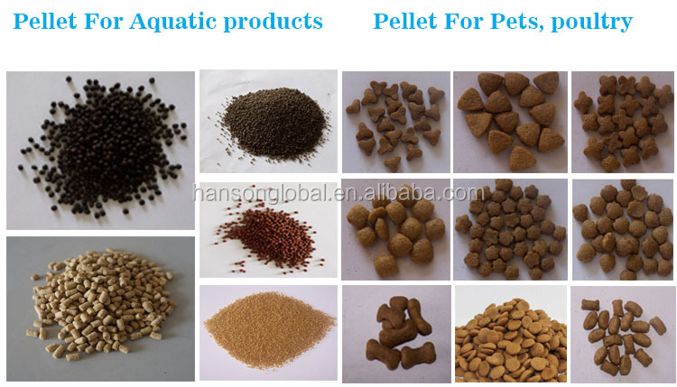 fish feed factory making machine price/best poultry manual feed pellet mill DSP120-B Hanson