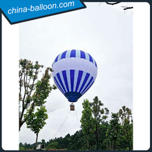 custom made hot air balloon flying in air from manufacturer