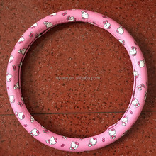 2017 new Girl PU PVC CAR STEERING WHEEL COVER