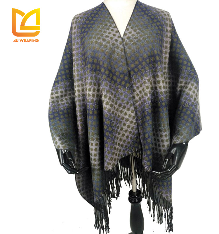 Cheap promotional scarf and shawl 2016 muslim ruana