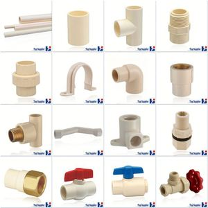 HJ CPVC ASTM D2846 water supply system connection pvc pipe fitting eccentric reducer