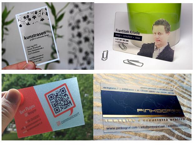 Diy logo printing plastic transparent clear business card buy diy logo printing plastic transparent clear business card reheart Images