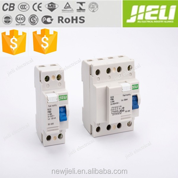 F362 rccb residual current circuit breaker rccb price