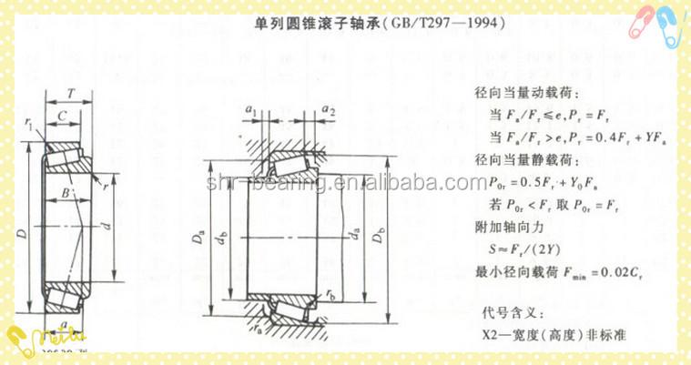 taper bearing size chart pdf