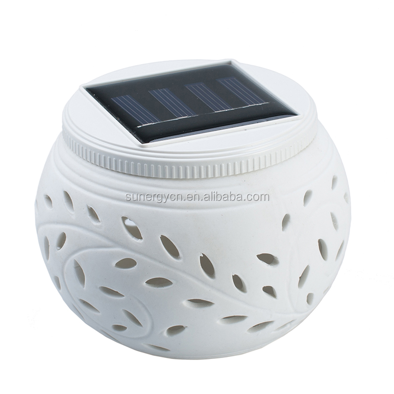 outdoor wall rechargeable solar LED light house yard garden outdoor decorative colorful light