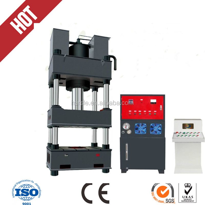 PLC system 500T 4-column sheet metal hydraulic press machine price in reason