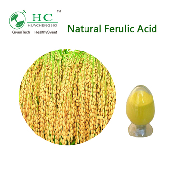 Best Price Rice Bran Extract Powder Natural Ferulic Acid 98%