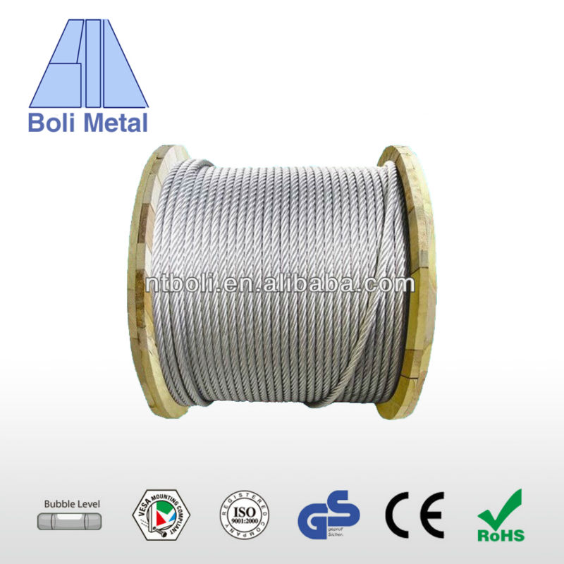 World Best Selling Products Steel Wire Rope 36x7+fc 35mm With Long ...