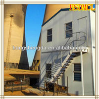 China stainless steel plate sandwich panel prefab house