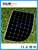 China Factory Direct Sales 180W High Efficiency Thin Semi Flexible Solar Panel