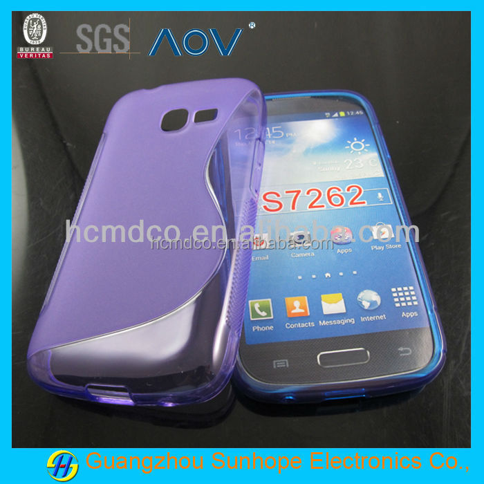 For Samsung Galaxy Star Pro S7262 S7260 TPU Gel Case,TPU Gel Case for S7262 Galaxy Star Pro Case