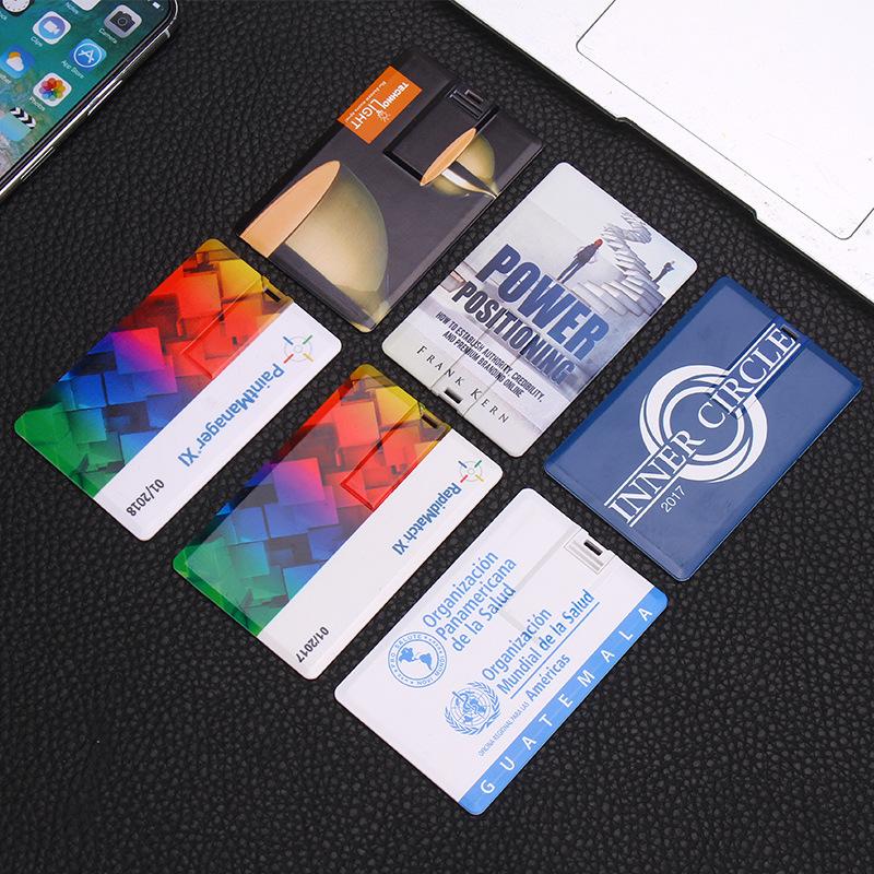 Shenzhen 4gb Usb 2.0 Flash Drive Custom printing Business Plastic Credit Card Usb