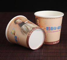 16oz paper cups with lids In Bulk Dessert Hot Papaer cups cup cheap paper