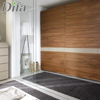 Custom Hot Sale Veneer Wardrobe Door Designs,Custom Size Closet Doors,Armoire  Wardrobe