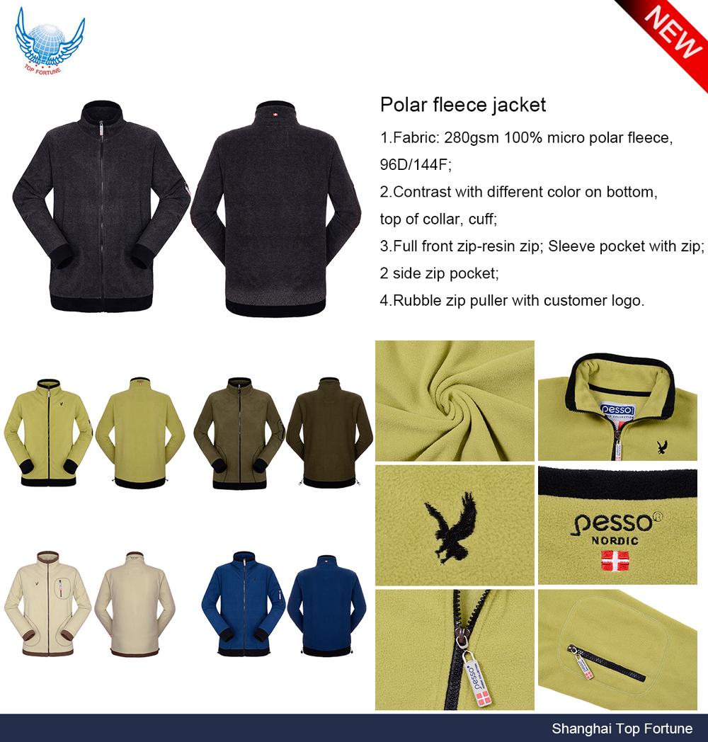 Man cheap men's cardigan hooded polar fleece jacket