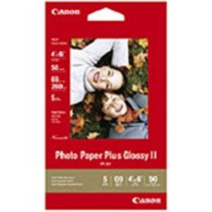 "Canon Photo Paper Plus Ii - Glossy Photo Paper - 4 In X 6 In - 50 Sheet(S) - For Pixma Ip2600, Ip3500, Ip4500, Mini320, Mp520, Mp970, Mx300, Mx310, Mx700, Mx7600, Mx850 ""Product Type: Supplies & Accessories/Paper Supplies"""