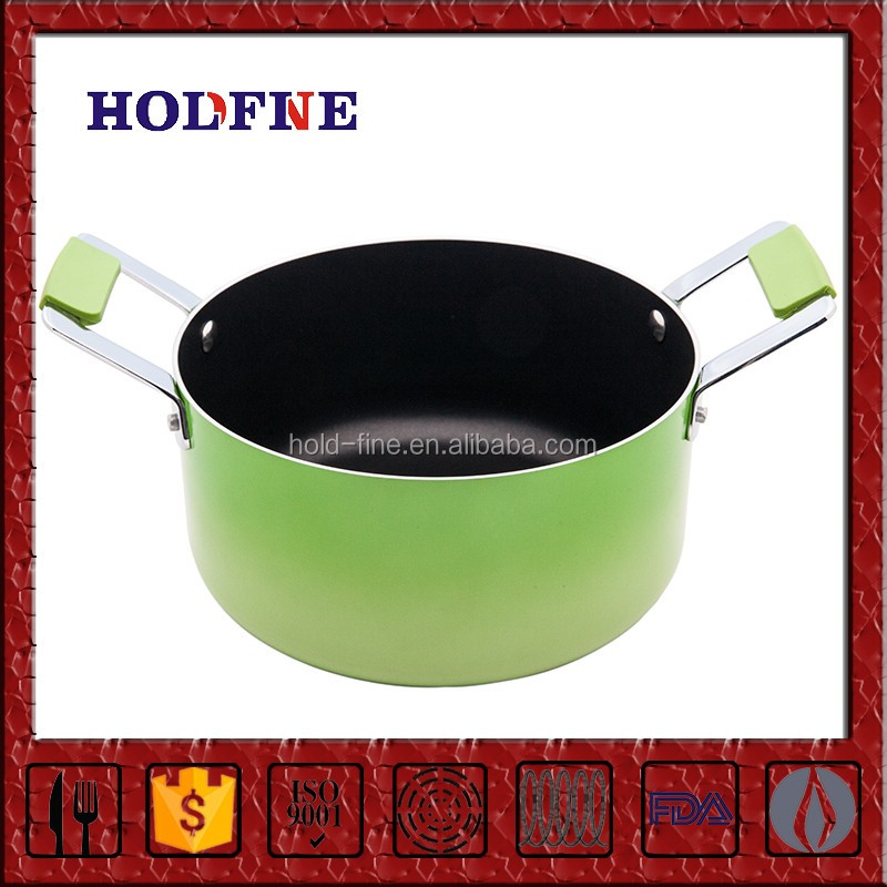 Manufacturing Direct Sale Daily Kitchen Cooking enamel oval metal cauldron saucepan