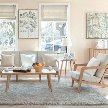 Cheap Teak Wood Furniture Design Sofa Set In Living Room