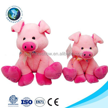 low moq promotional plush toy valentine pig kids toy cute pink stuffed soft plush pig - Valentine Pig