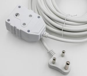 SAA-074y south africa power strip 4 way sockets