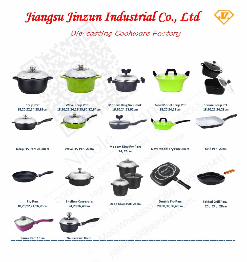 cookware set 10 pcs dessini imperial non stick die cast aluminium buy non stick die cast. Black Bedroom Furniture Sets. Home Design Ideas