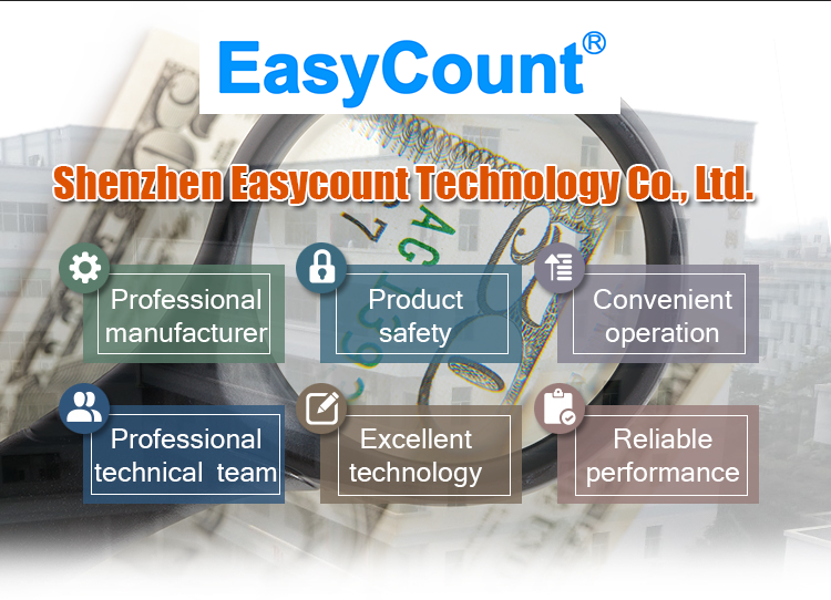 EC1800 CIS mixed- Value Counter Read Series number Money counter  bill counter with MG,MT,UV,IR ,fast counting speed 1200pcs/min