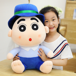 Cute soft cartoon character plush toy Crayon Shin-chan stuffed toy