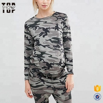 1ee87997e01 China camouflage printed design maternity clothes pregnant women clothing