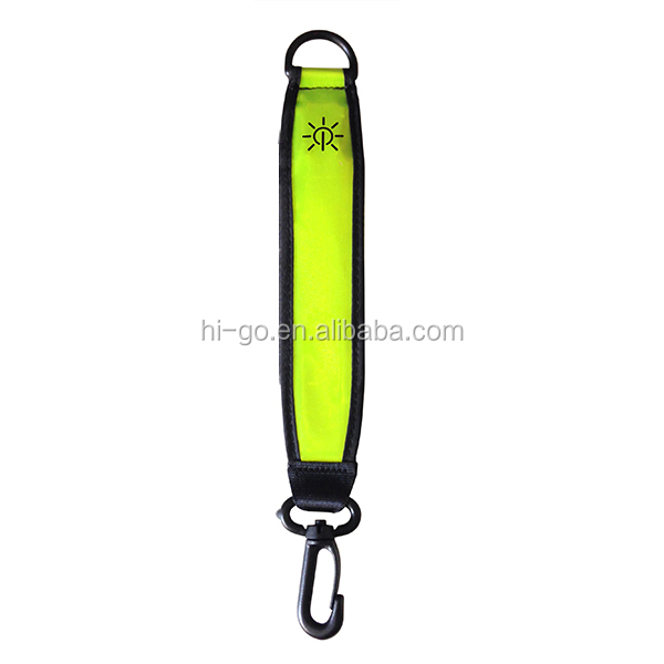 2016 innovative products glowing bag hook folding bag purse hook