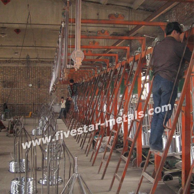 bright and soft galvanized iron wire price factory