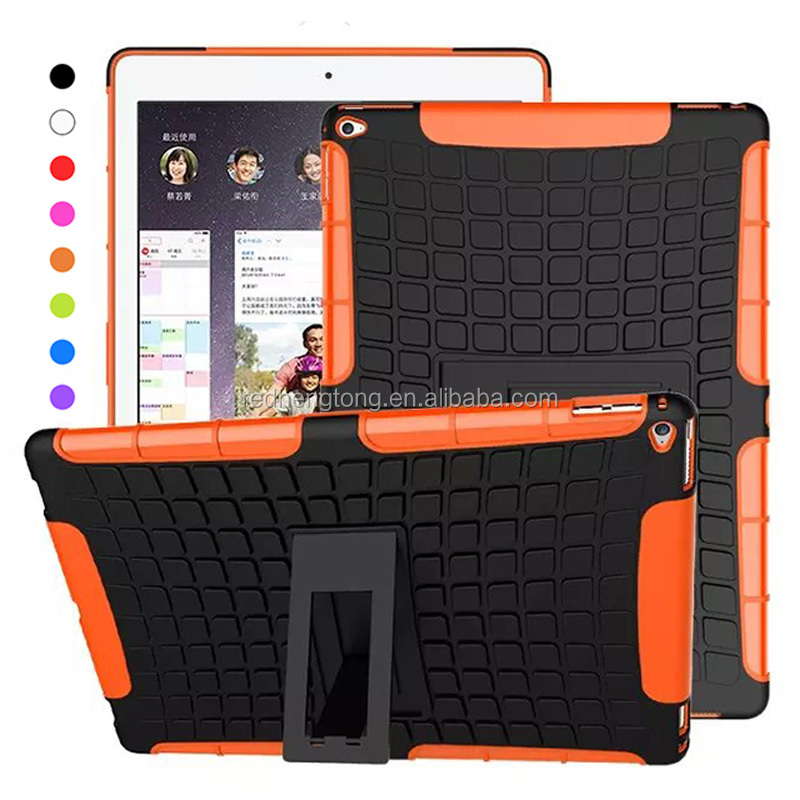 High Quality Heavy Duty Case Kickstand Armor Hybrid Cover For Apple <strong>iPad</strong> Pro