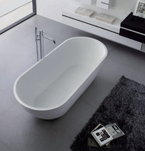 Engineered Stone Silky Smooth Polishing Classical Shape Freestanding Bath Tub From Pg Bath
