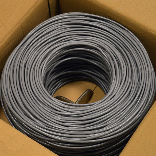 305m Pull Box Packing SFTP Cat5e Internet Cable With High Quality