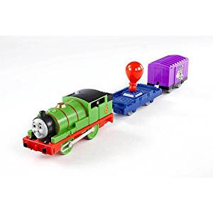 Fisher Price Thomas & Friends Trackmaster UP, UP AND AWAY PERCY Greatest Moments Motorized Railway Battery Powered Tank Engine 3-Pack Train Set