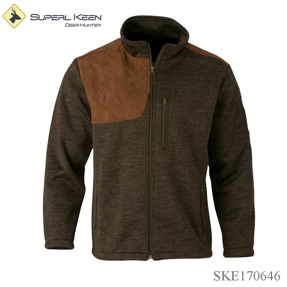 High Quality Wool/ Acrylic Thermal Shooting Jacket