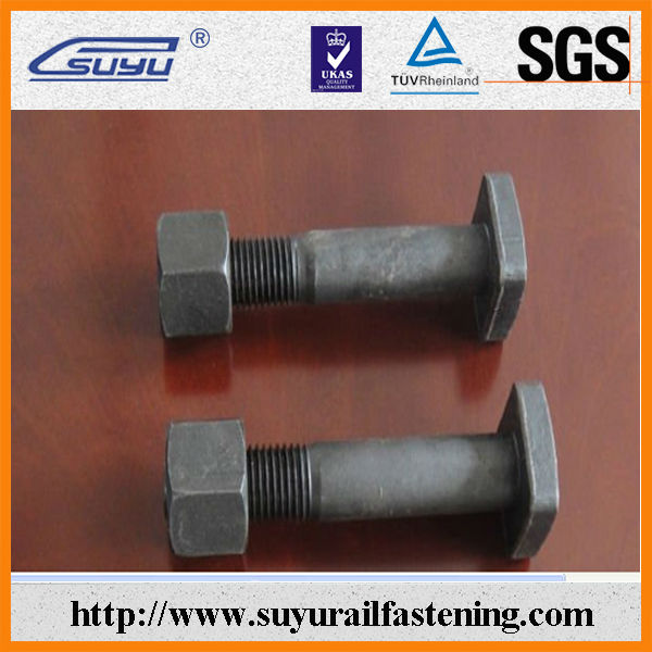 Square Head Screws / Zinc Plated Screws / Railway Lag Bolt