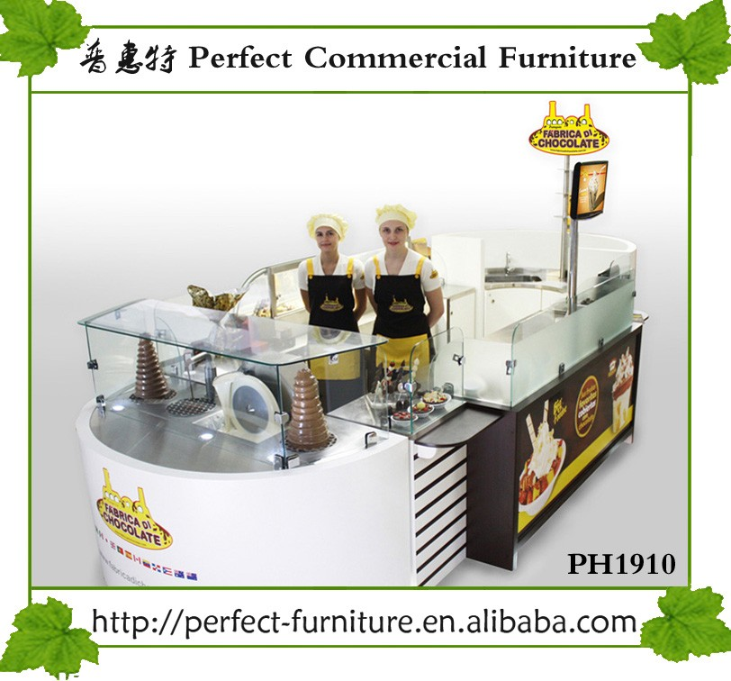 New style pizza kiosk manufacturer food kiosk pasta with for Food bar manufacturers