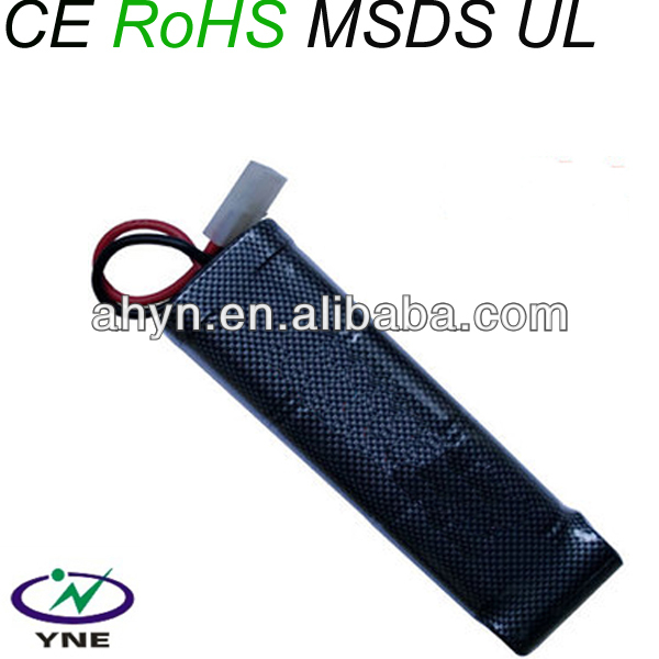 2013 hot! Manly Game consoles aa NIMH 1300mah 8.4v ni-mh batteries