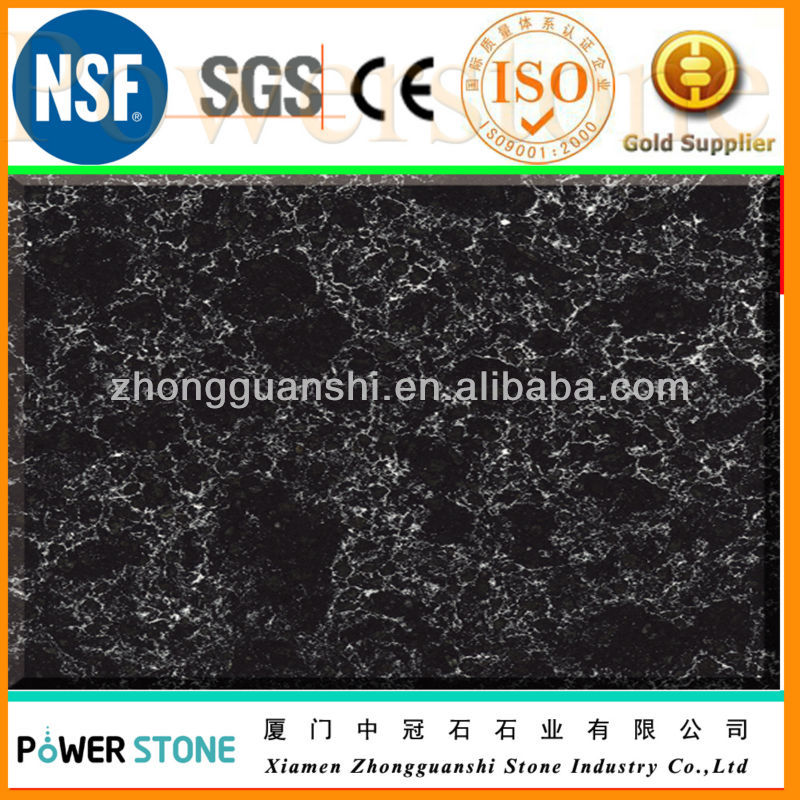 Natural Granite Color Quartz Stone Slab