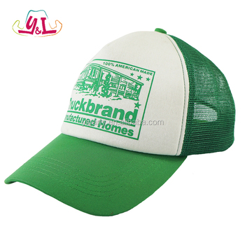 Novelty Green Truck Baseball Cap Hat For St. Patrick By China Factory 93e9a8e61f0