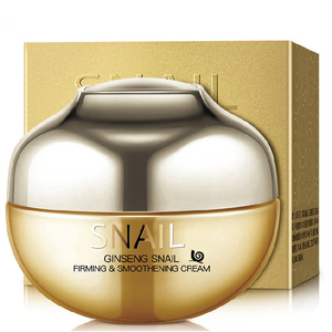 OEM Natural best cosmetics deep whitening new design snail cream