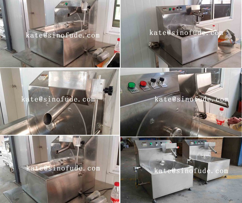 Cxjz 10 Small Chocolate Moulding Machine/small Chocolate Tempering ...