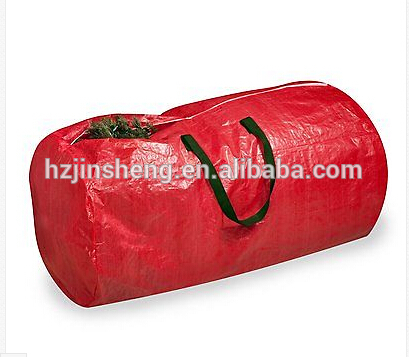 red super big nylon christmas tree storage bag for promotion